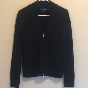 Black zip up Jones of New York Sweater